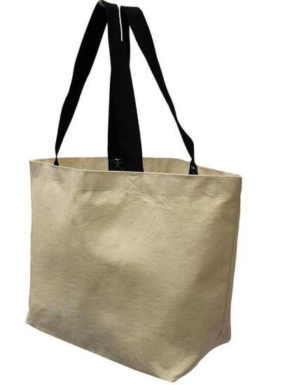 Natural Recycled Shopping Cotton Bag &Custom Canvas Tote Bag