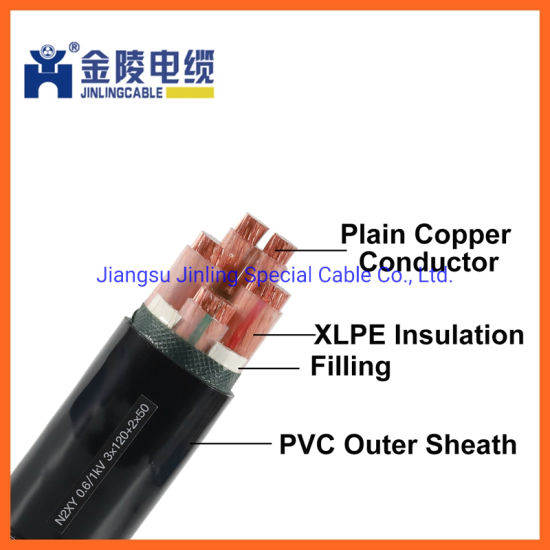 N2xy 0.6/1kv Low Voltage XLPE Insulated Power Electric Cable
