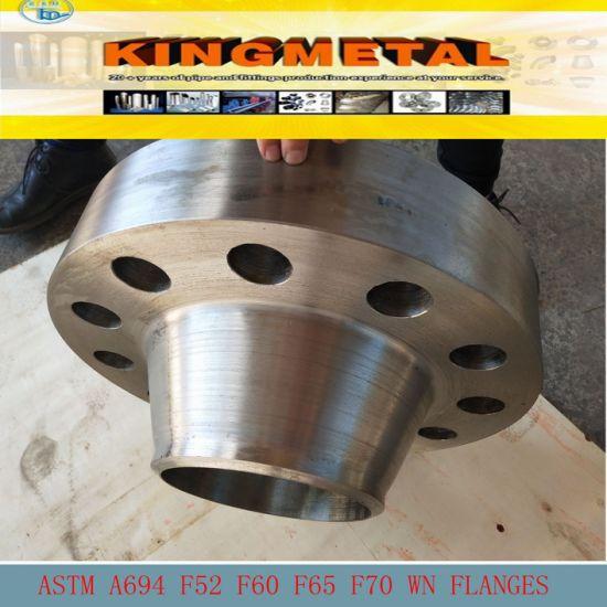 Forged Steel Wn A694 F52 F60 F65 F70 Flanges