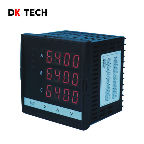 Dk6404 Three-Phase High-Precision AC True RMS Measurement Multifunctional Power Meter