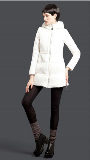 Wholesale Stock Garment Brand Custom Fit Winter Down Jacket Coat