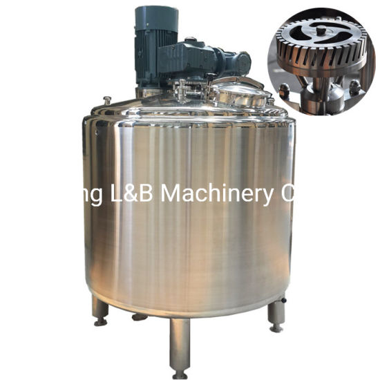 Fact Direct Sale Steel Milk Lotion Steam Homogenizer Mixer for Sale