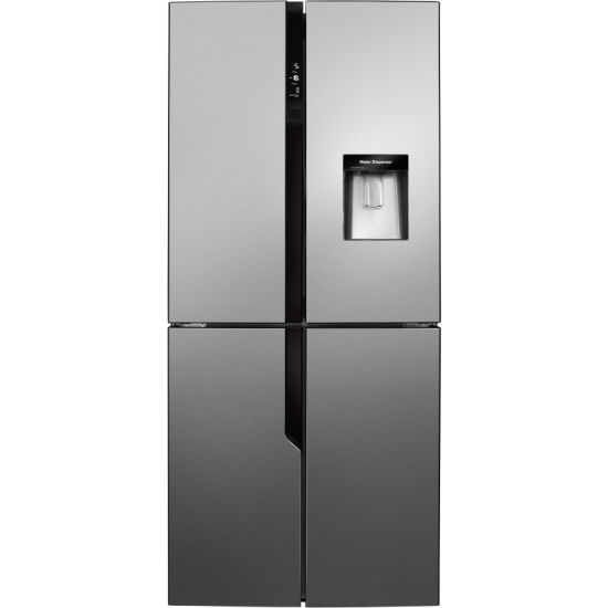 220V 50Hz Home Four Doors Side by Side Refrigerator with Water Dispenser
