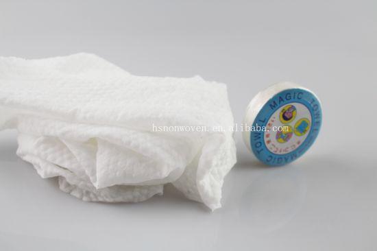 Mini Face Care Wipe Soft Handkerchief Magic Hand Towels Compressed Towel