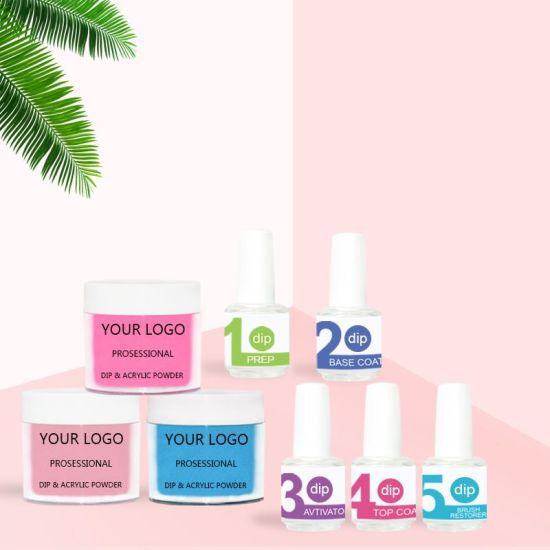 Custom Private Logo 172 Colors Acrylic Nail Dipping Powder