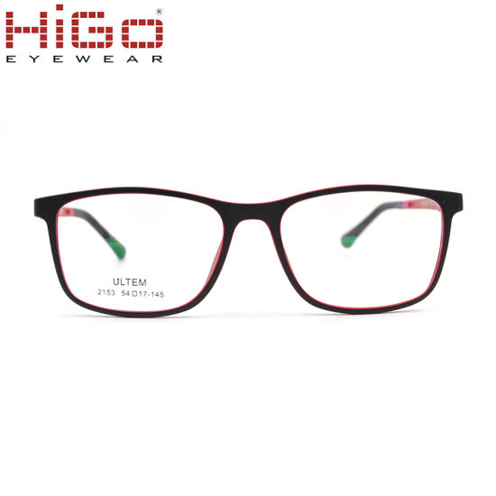 New Product Plastic Glasses Frame with Ultem Material