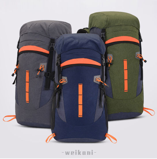 Factory Wholesale New Outdoor Sports Backpack 50L Mountaineering Bag Men's Backpack Large Capacity Hiking Bag