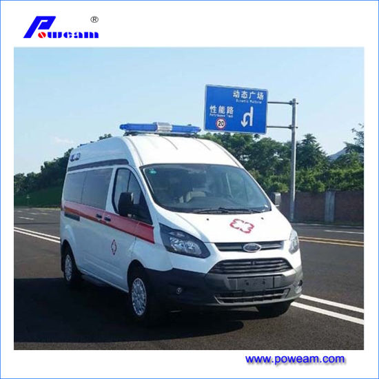 Factory Direct Sale 4X2 Type ICU Ambulance Vehicle for Sale