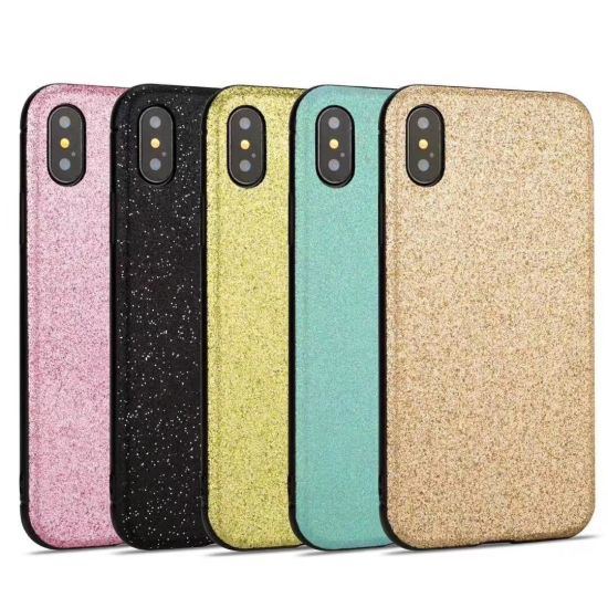Skin TPU Bling PC 2in1 Phone Cover Cases for iPhone X