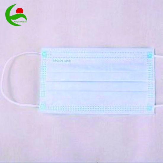 Manufacture 3 Ply Medical Disposable Surgical Face Mask with Ear Loop