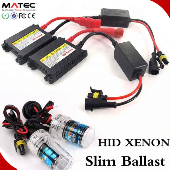 china manufacturer hi/lo beam hid conversion kit ac dc slim canbus hid  headlights 9005