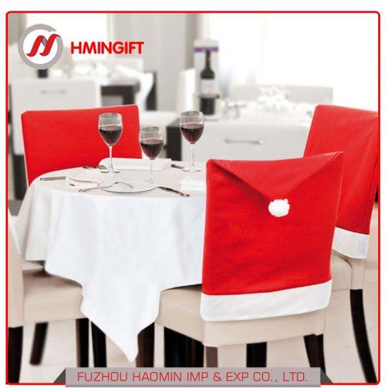 Marvelous China Hot Santa Claus Hat Chair Covers Christmas Dinner Machost Co Dining Chair Design Ideas Machostcouk