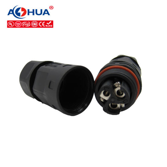UL Approved 3 Pole IP67 Waterproof Cable Connector