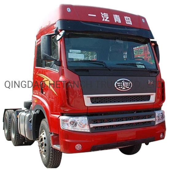 Customized FAW 380HP 6X4 Trailer Head Truck Tractor Truck