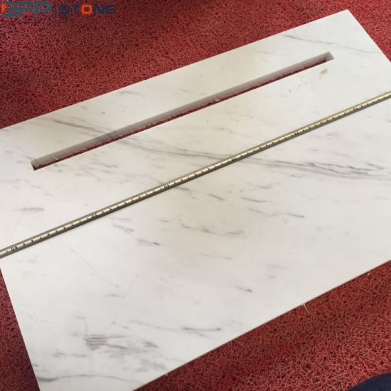China Natural Stone White Marble Tile