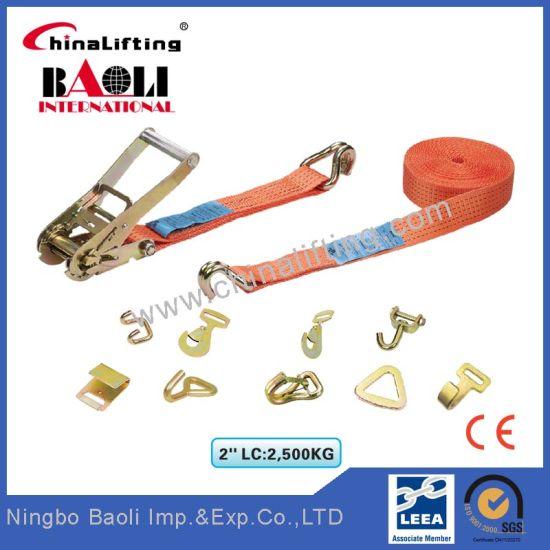 LC2500dan Ratchet Tie Down, Lashing Strap, Cargo Lashing