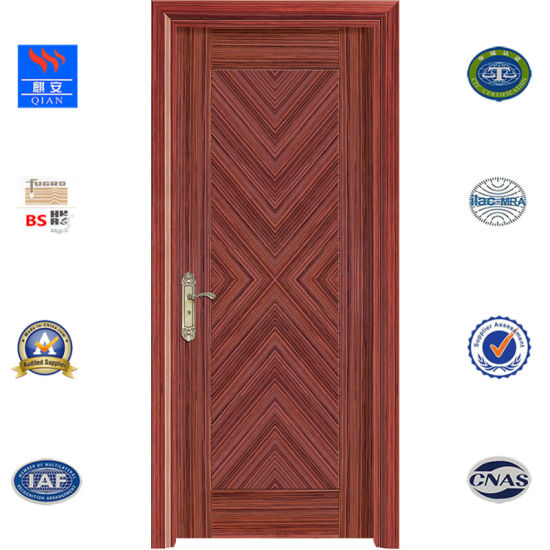 China Safety Interior Wood Door Fire Rated Wooden Door With Bs