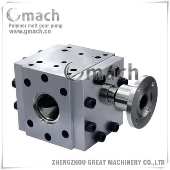 High Temperature High Pressure Melt Gear Pump for Peek Material pictures & photos