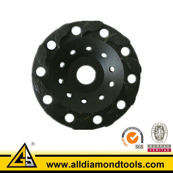 Special Desingned Diamond Grinding Cup Wheel for Concrete pictures & photos