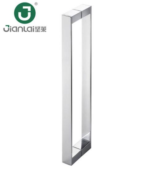 China Handles For Glass Shower Doors Chrome Brass Shower Door Handle