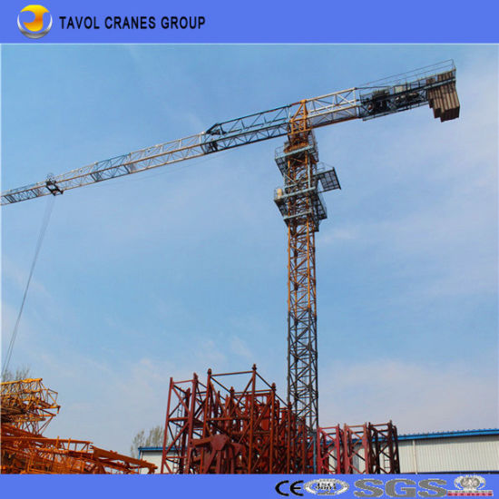 Model 5610 Self-Raising Topless Tower Crane pictures & photos