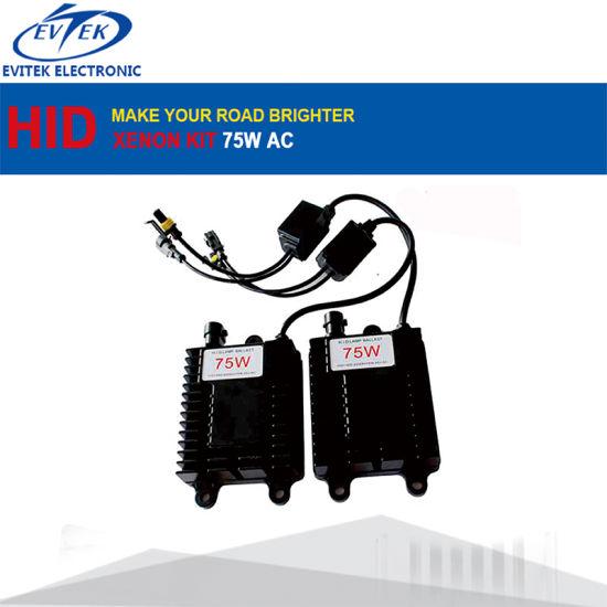 H1 H3 H4 H7 H11 H9 H10 35W 55W 75W HID Headlights Slim Ballast Xenon HID Kit