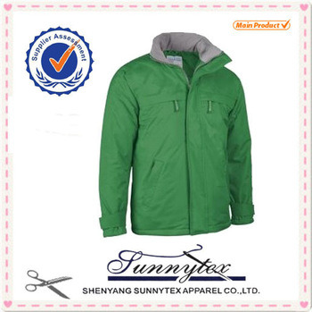 Mens Basic Parka for Winter Outdoor Activities Jacket pictures & photos