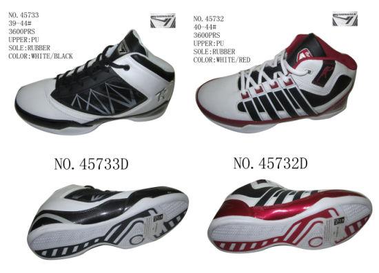 7aae8715 China No. 45732 Two Color Men Stock Basketball Shoes - China ...