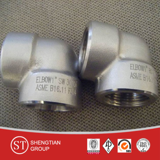 Asme B16.11 Forged Steel Socket Fittings (1500#, 3000#, 6000#, 9000#) pictures & photos