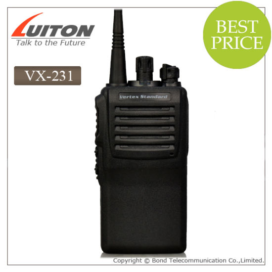 Vertex Standard Vx-231 Vx231 VHF/ UHF Walkie Talkie