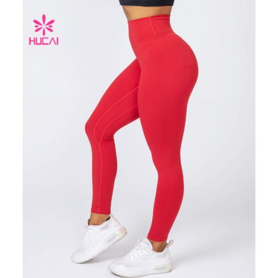 Women Fitness Skin Tight Legging Custom Yoga Pants Wholesale