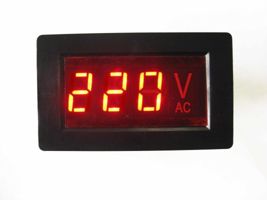 Digital Voltage Meter pictures & photos