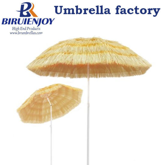 Sun Hotel Holiday Beach Umbrella Natural 180 Cm Hawaii Style pictures & photos