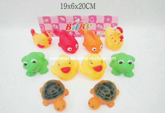 Chinese Supplier Wholesales Squeeze Bath Toys for Kids
