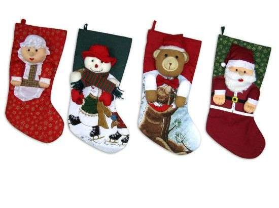 OEM Design Children′s Christmas Stockings pictures & photos