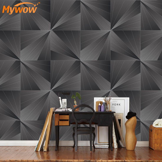 Home Interior Design Wallcovering 3D Wallpaper for Bedroom