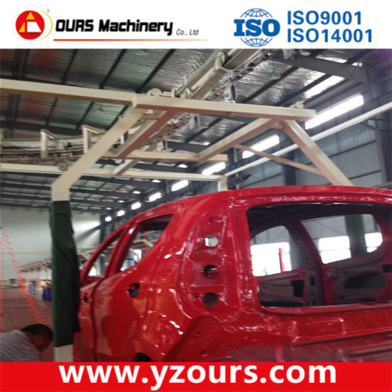 Auto Paint Spray Booth for Car Industry pictures & photos
