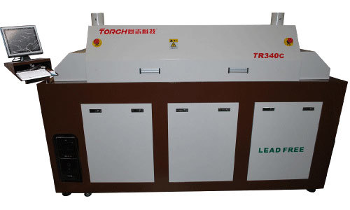 Torch Tn340c Prodessional SMT 4 Heating Zone LED Making Machine Reflow Oven pictures & photos