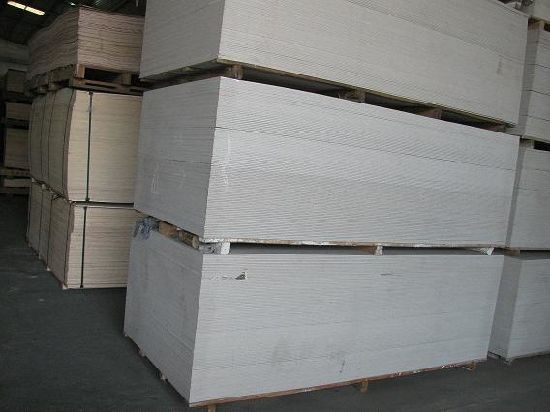 Calcium Silicate Board, Used for Partition, Wall Board, Fireproof Material pictures & photos