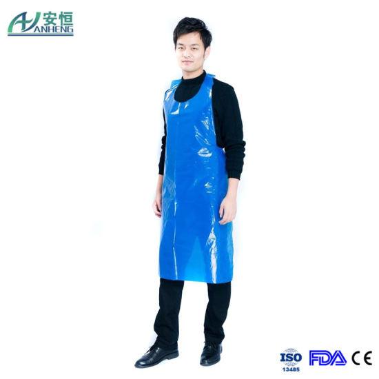 New Design PE Apron Waterproof Poly Apron, Waterproof Polyethylene Apron