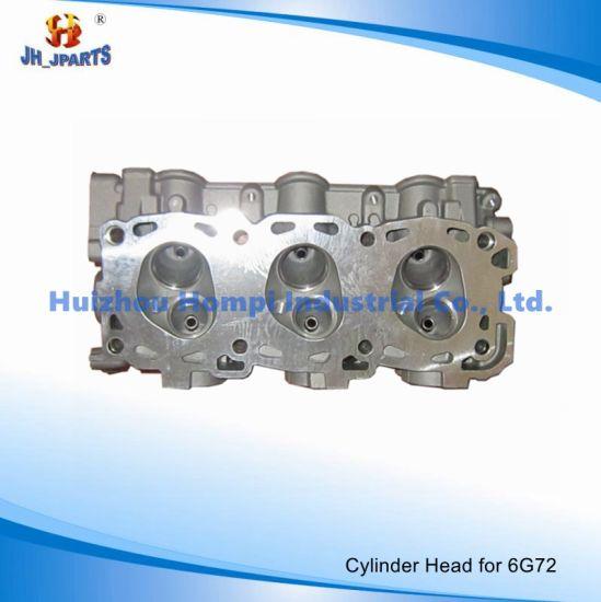 china auto parts cylinder head for mitsubishi 6g72 6g74 lh rh 6g73 Turbo 6G73 auto parts cylinder head for mitsubishi 6g72 6g74 lh rh 6g73 6d16