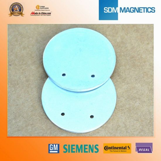 Permanent Customized Hard Disc Neodymium Magnet Brooch Assembly