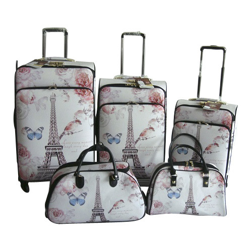 PU Trolley Case Trolley Bag Suitcase Luggage Jb-D001 pictures & photos