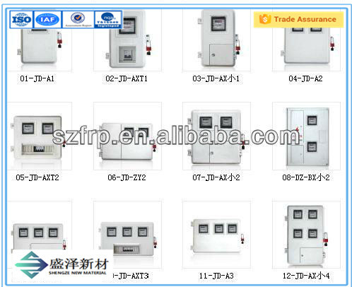 China Insulation PC, SMC Power Distribution Meter Box pictures & photos