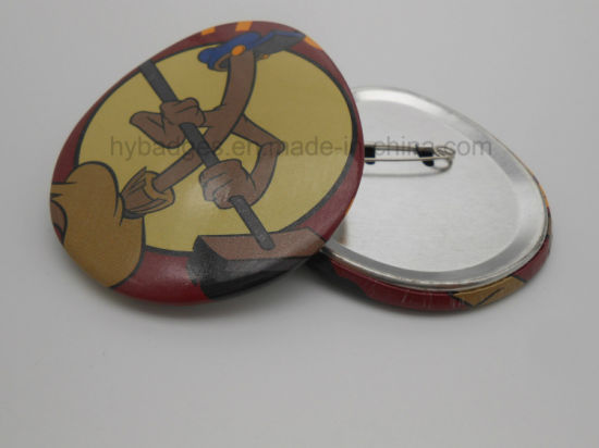 Square, Rectangle, Oval, Round Tin Badge, Customized Different Buttons (HY-MKT-0022) pictures & photos