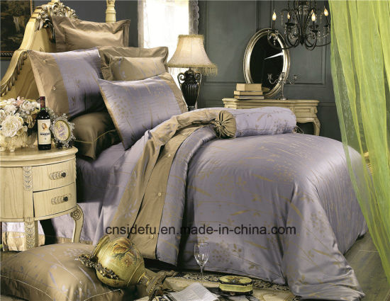 Luxury Silky Home Used Embroidery Design Linen Bed Sheets