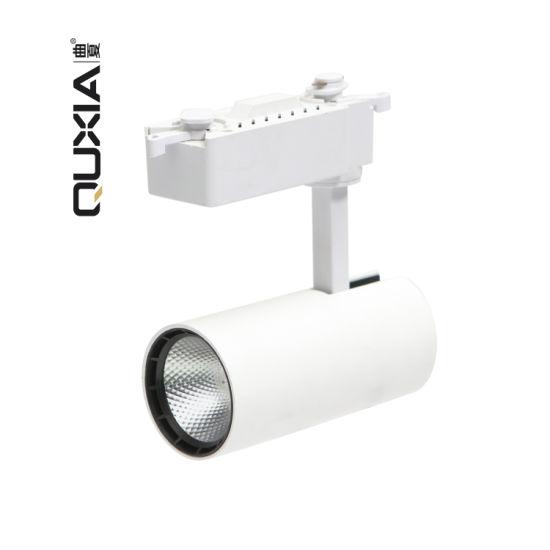 Removable Clothing Shop Roast White Aluminum Shell LED Track Light