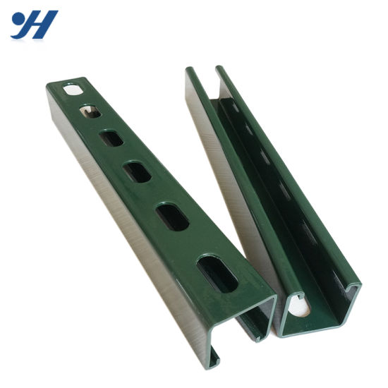 China Low Price Stainless Steel Slotted Single Gi Strut Channel