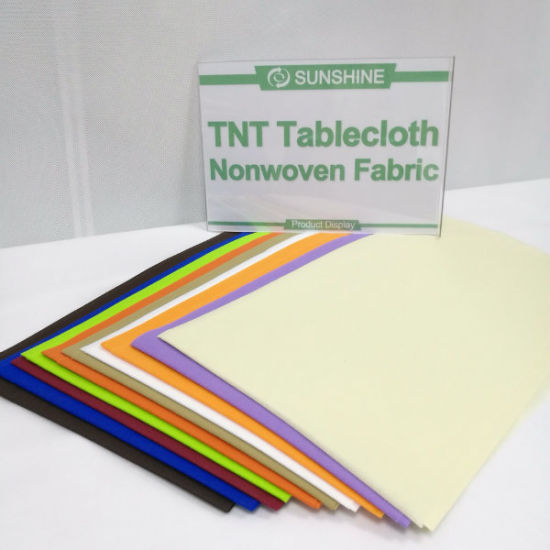 Supplier Nonwoven Spunbonded Fabric Tablecloth