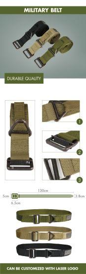 Deekon Wholesale Outdoor Heavy Duty Universal Nylon Adjustable Military Tactical Waist Belt